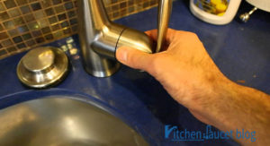 How to Remove the Handle of Moen Touchless Kitchen Faucet